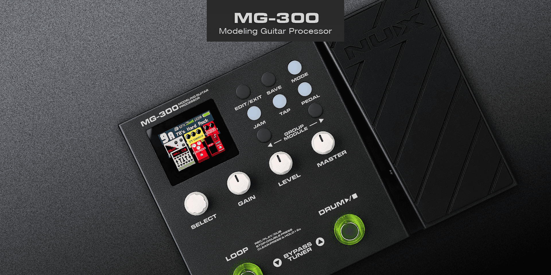 NUX MG-300 Modelling Guitar Processor