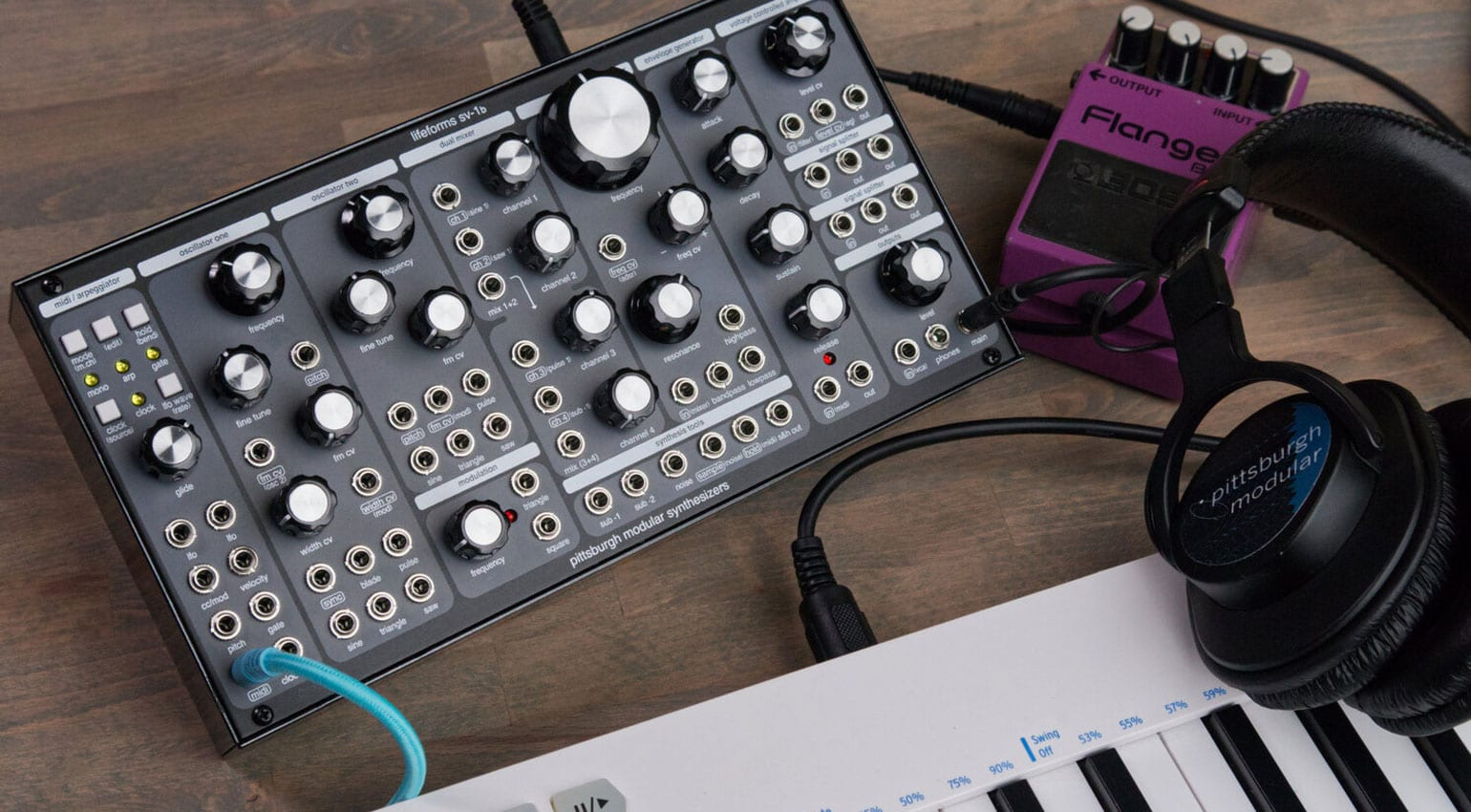Pittsburgh Modular revamps the Lifeforms SV-1 into the sublime SV-1b
