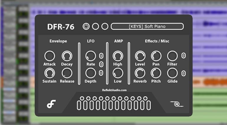 reflekt audio gfr-76 sample pack GUI