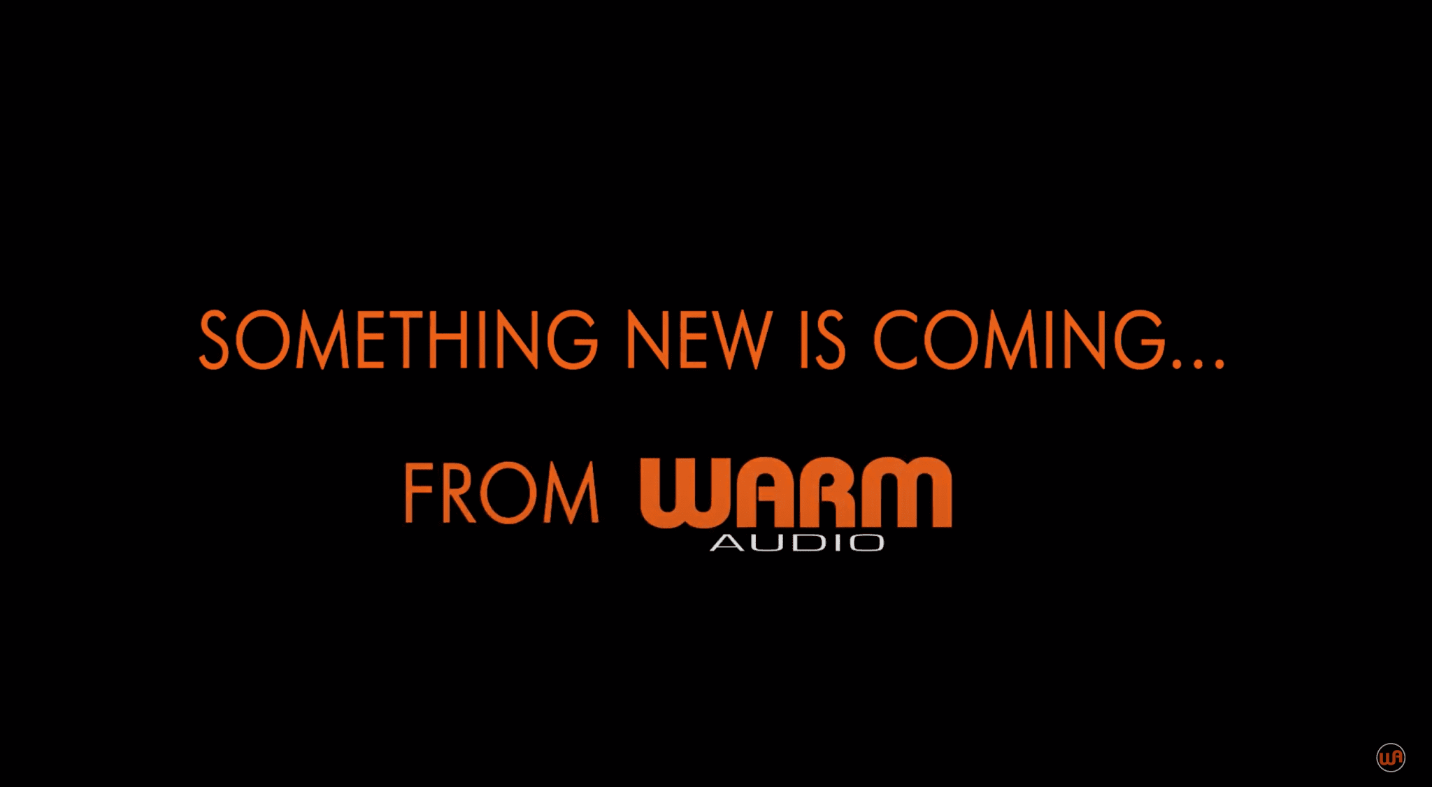 Warm Audio tease new guitar product