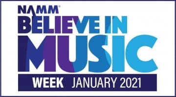 Believe in Music Winter NAMM 2021