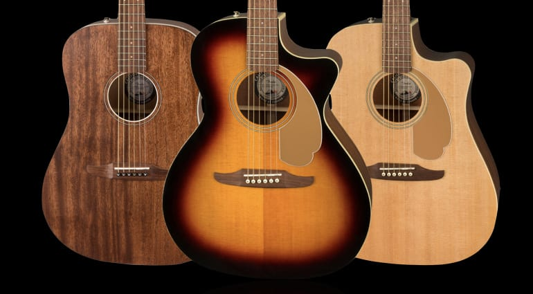 Fender California Traditional acoustic series