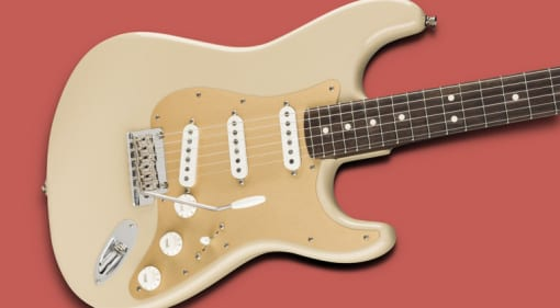Fender Limited Edition American Professional Stratocaster with solid rosewood neck