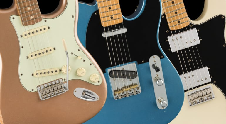 Fender adds new Road Worn Vintera Strat and Tele