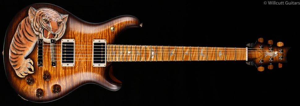 PRS Private Stock Snarling Tiger