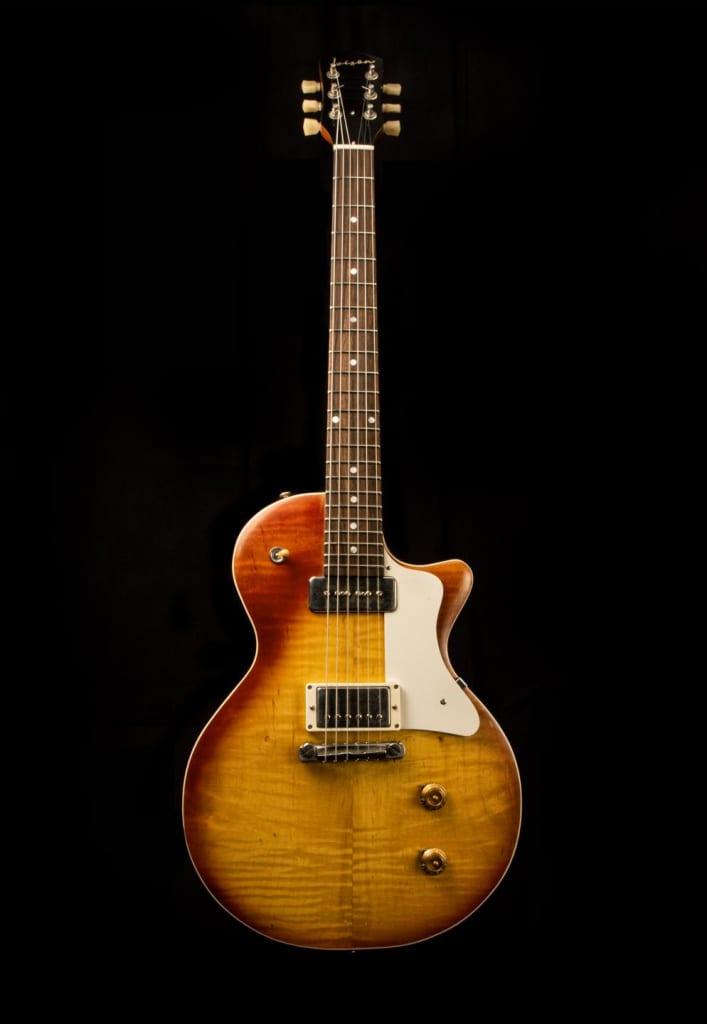 Ivison Guitars The Spitfire front
