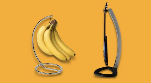 PRS Floating Guitar Stand Banana