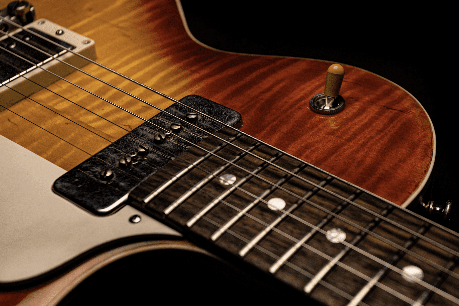 Ivison Guitars The Spitfire with P90