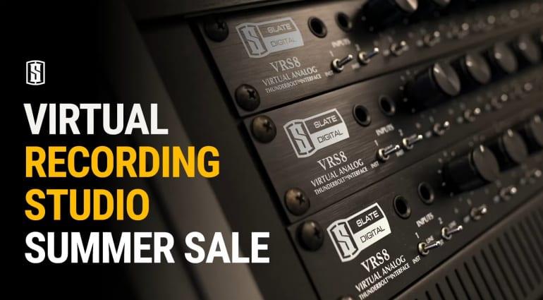 Slate Virtual Recording Studio Summer Sale