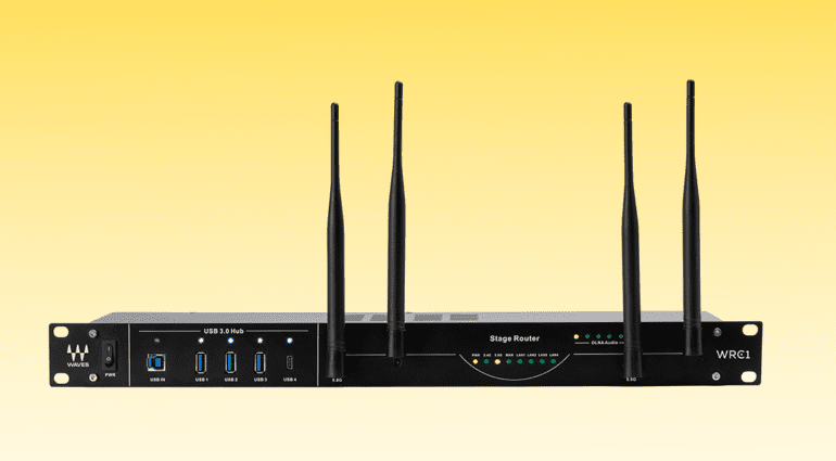 Waves WRC-1 wireless router