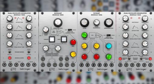 Behringer 2500 modules