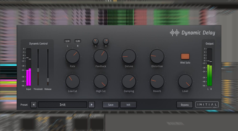 Initial Audio Dynamic Delay