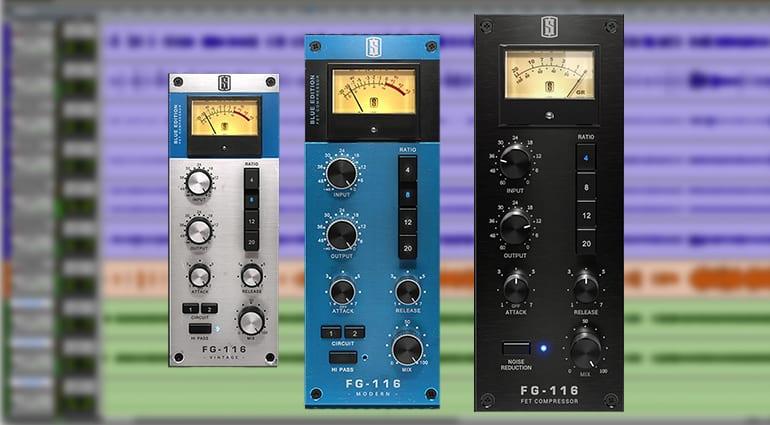 slate fg116 compressors plugin GUI
