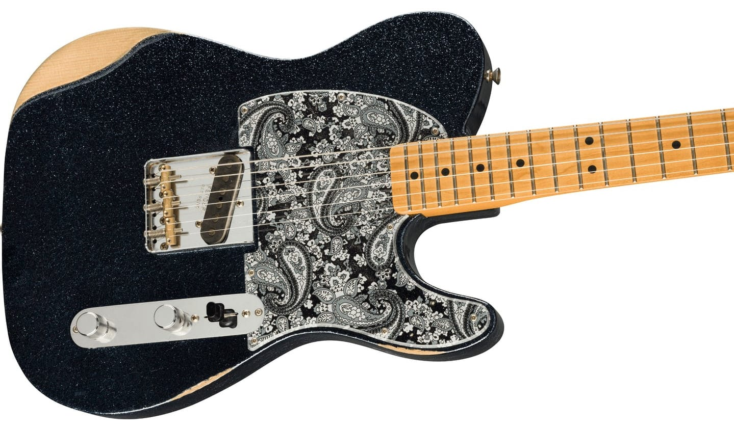 Fender Brad Paisley Esquire with a secret neck pickup
