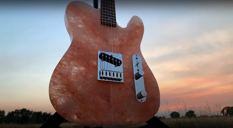 Burls Art Salt Himalayan Guitar