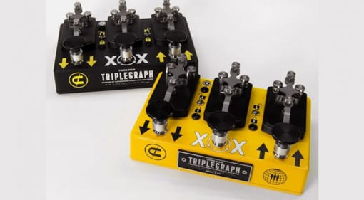 Coppersound Pedals and Jack White release the Triplegraph octave pedal