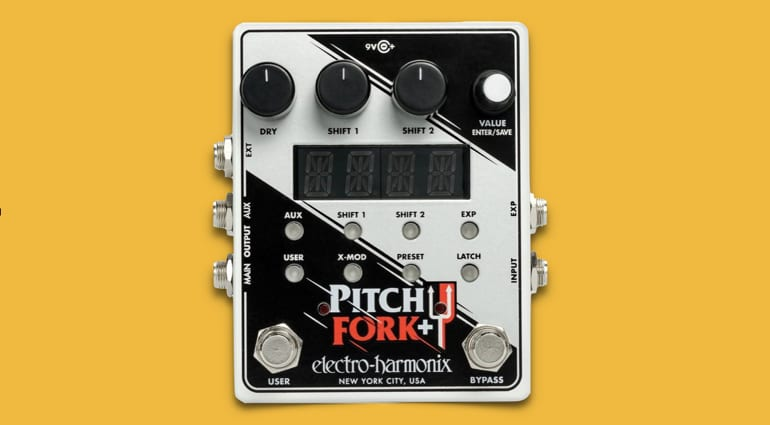 Electro-Harmonix Pitch Fork + Polyphonic Pitch Shift- More details emerge