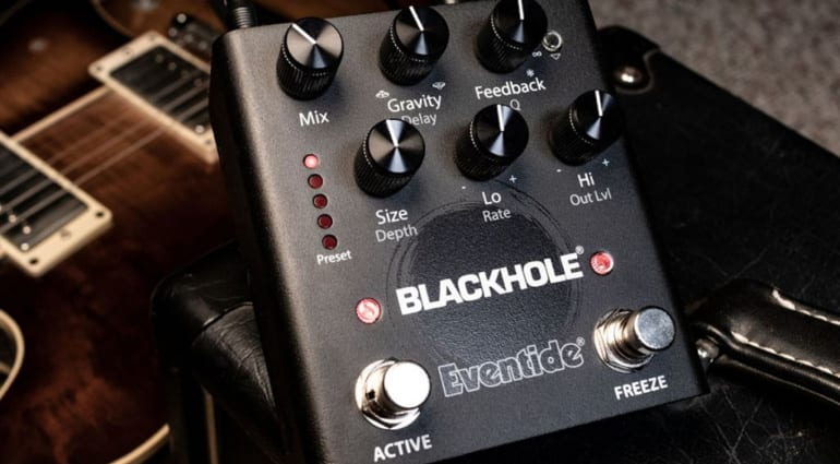Eventide Blackhole Reverb, possibly the largest reverb in the universe?