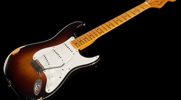 Fender 55 Strat 2TSB Relic