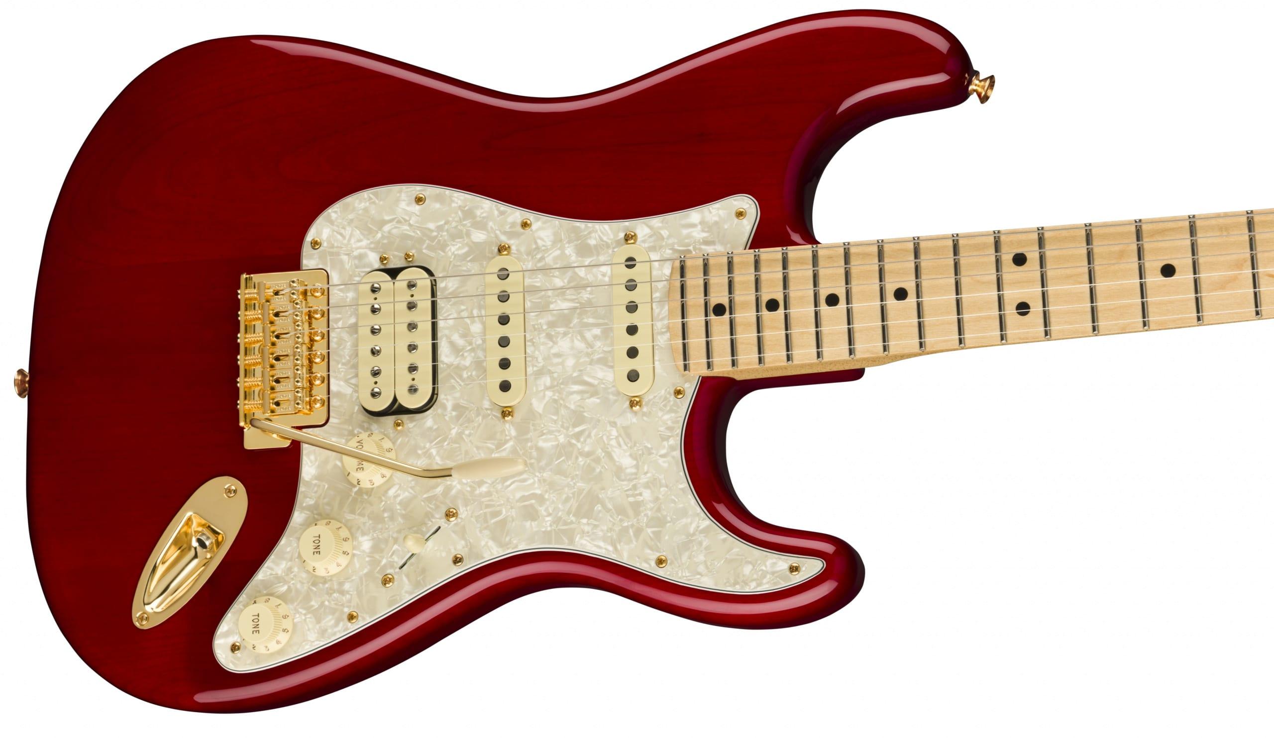 Fender Tash Sultana signature HSS Stratocaster closeup