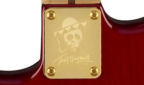 Fender Tash Sultana signature HSS Stratocaster neck plate