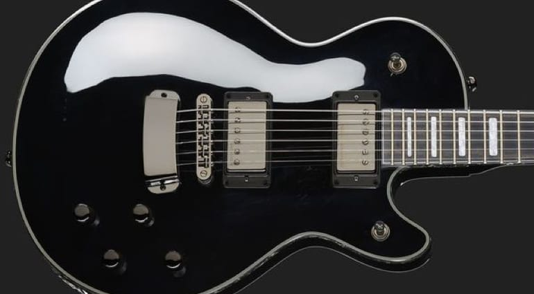 Hagstrom Swede LTD Black Dark King