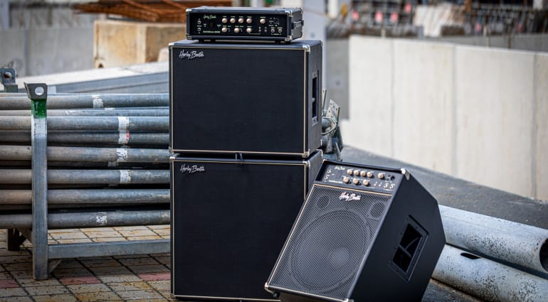 Harley Benton SolidBass range of bass amps and combos