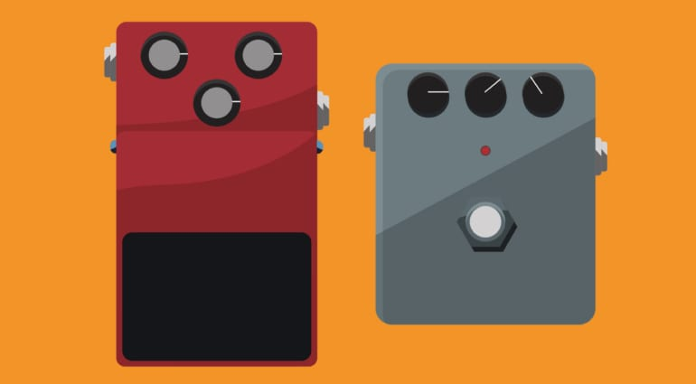 Jef's Budget Effects Pedals