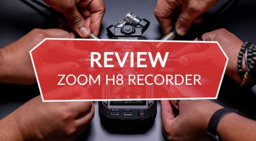 Review Zoom H8 handheld recorder
