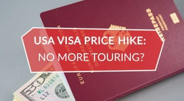 USA Artist Visa Price Hike