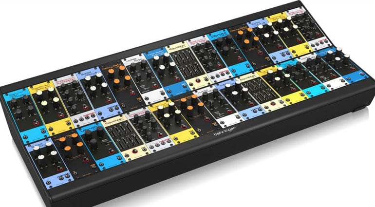 Behringer's latest crazy idea is to port guitar pedals to Eurorack