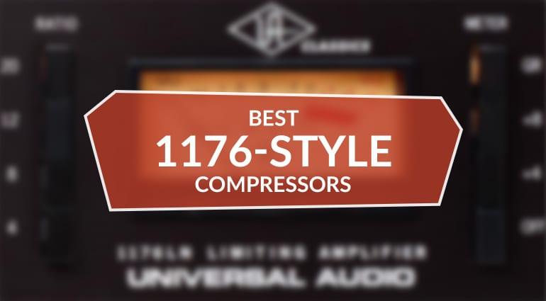 Best 1176-style hardware compressors