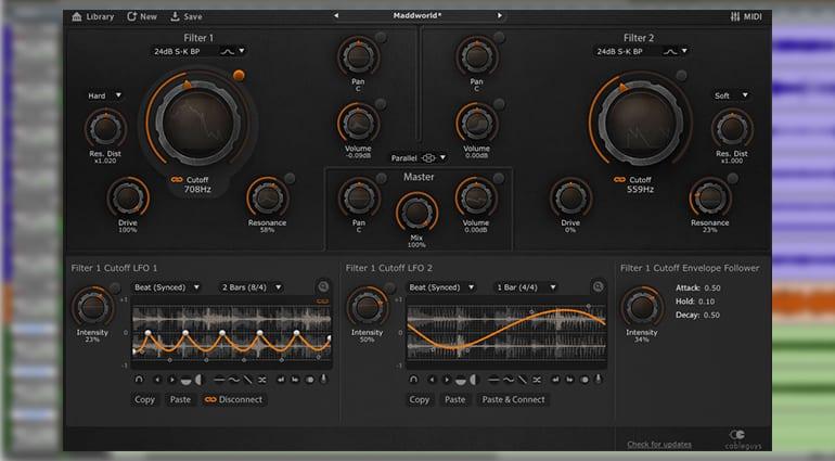 cableguys filtershaper 3 plugin GUI