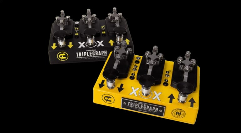 Coppersound Pedals and Jack White collaborate on new Triplegraph octave pedal
