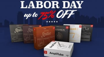 IK Multimedia Labor Day Deals