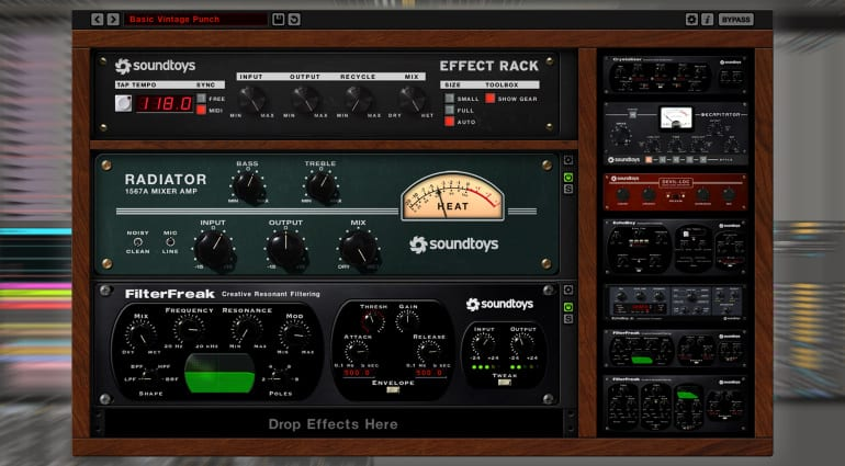 Soundtoys Effects Rack