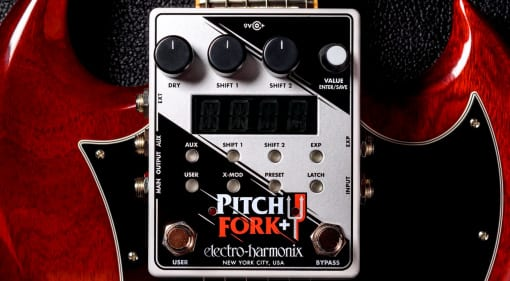 EHX Pitch Fork+ pedal