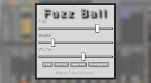 Fake Industries Fuzz Ball