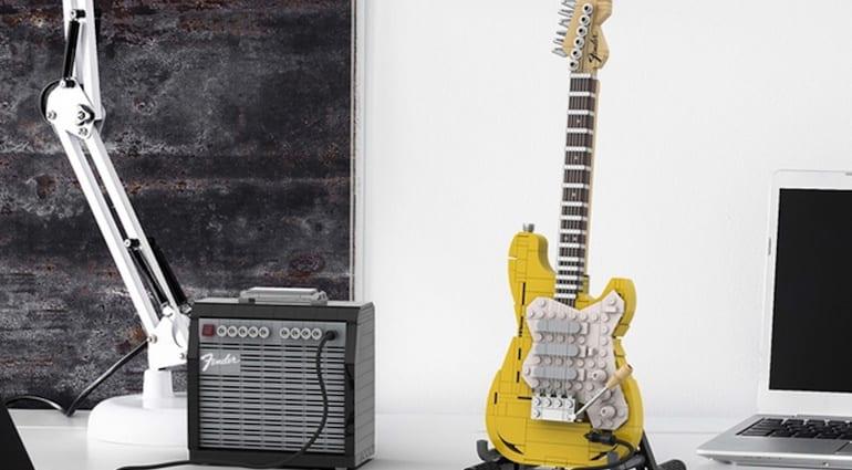 LEGO Legendary Stratocaster