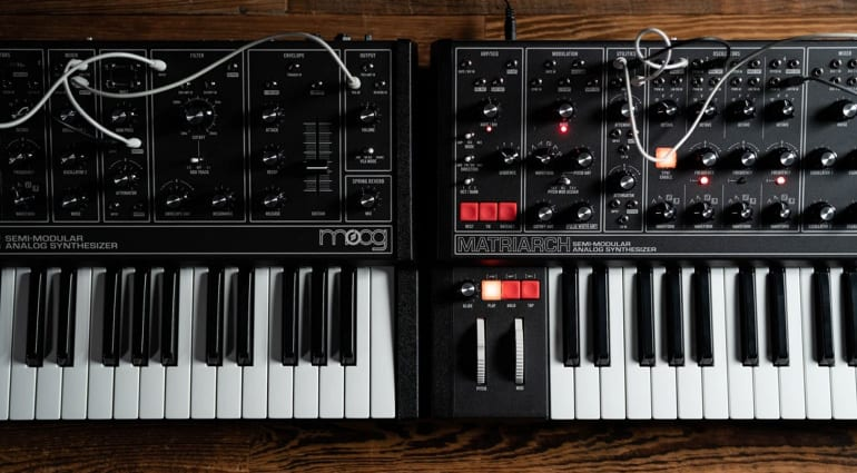 Moog Music Dark Series