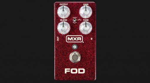 MXR FOD Drive pedal front