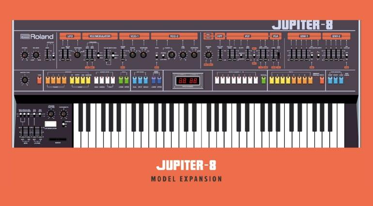 Roland JUPITER-8 Model Expansion