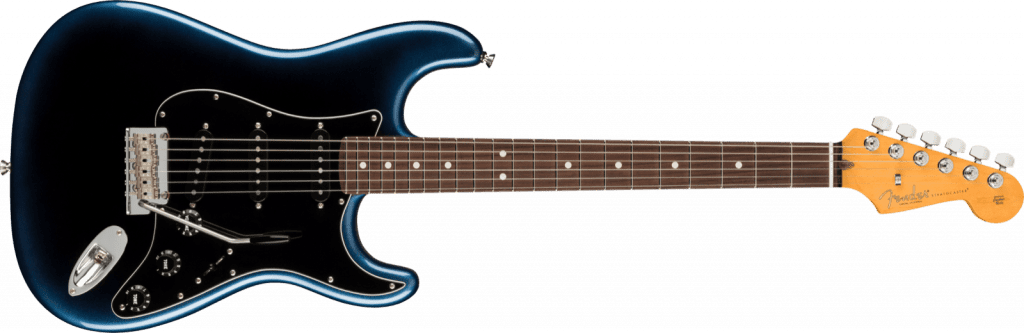 Fender American Professional II Stratocaster with Rosewood Fingerboard, Dark Night