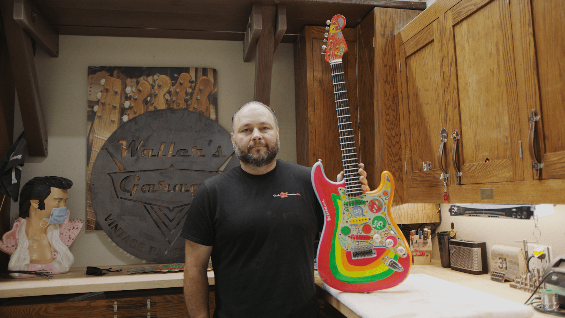 "Master Built George Harrison ""Rocky"" Stratocaster with Master Builder Paul Waller"