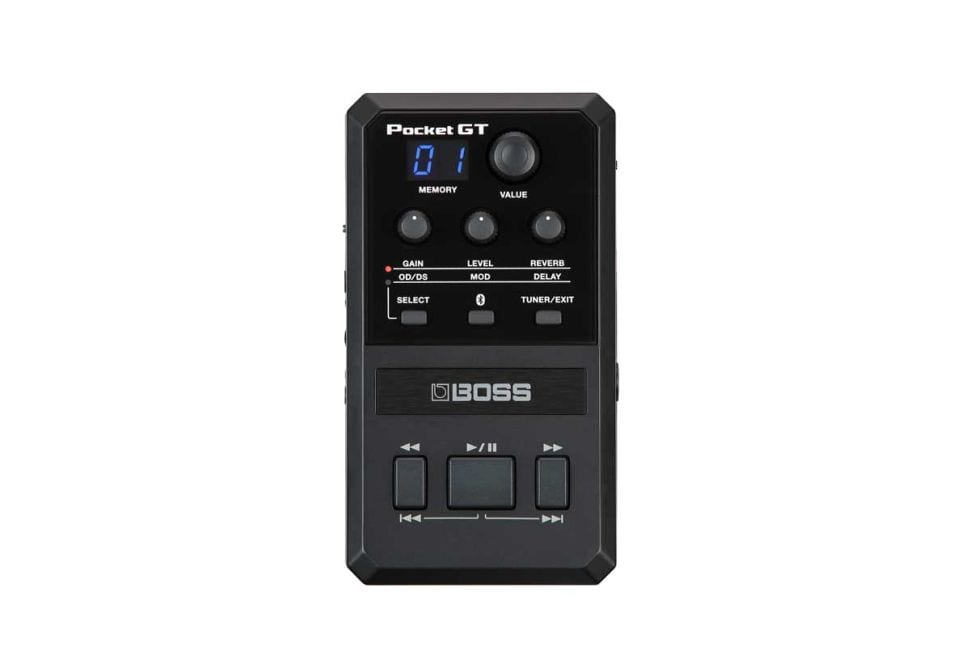 Boss Pocket GT. with presets, BlueTooth and YouTube streaming