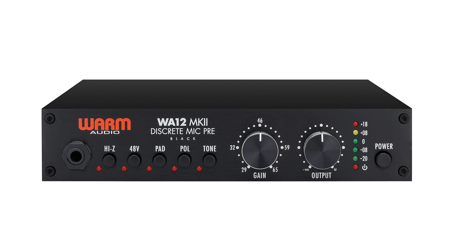 Warm Audio WA-12 MKII Black