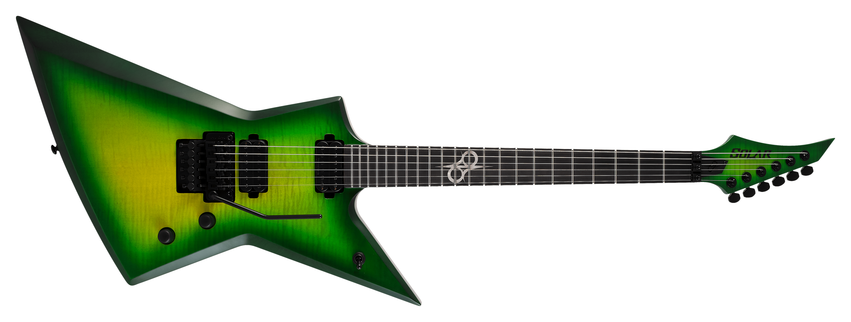 Solar Guitars Lime Burst E1.6