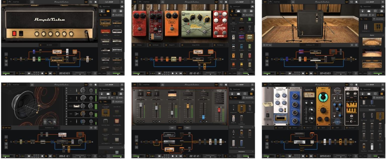 AmpliTube 5 new user interface