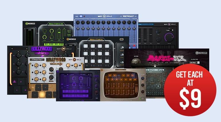 Beatskillz plug-ins deals