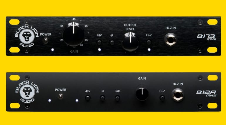 Black Lion Audio B12A B173 featured